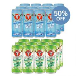 12 x Carabao Original + Apple 50% OFF