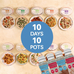 10 High Protein Meals (Save £10) + 4 Protein Shakes