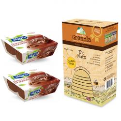 Shropshire Granola Nuts 500g + Alpro Soy Desserts - 8 Pack