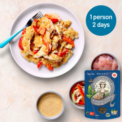 Easy Express Quinoa + Red Thai Chicken Curry Meal For 2 Days