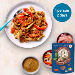 Easy Express Quinoa + Chicken Korma Meal For 2 Days