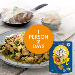 Easy Expree Quinoa + Chinese Style Chicken Meal For 2 Days