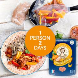 Easy Express Quinoa + Chicken Tikka Masala Meal for 2 Days