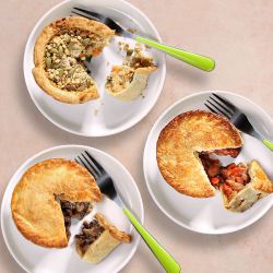 3 x Fry's Meat-Free Pies