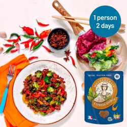 Easy Express Quinoa + Spicy Chilli Beef Stir Fry Meals for 2 Days