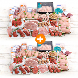 Double Up - Super Lean Hamper & £5 Extra Hamper