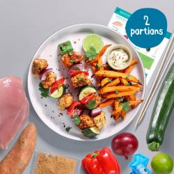 Dragon Fire Chicken Skewers - 2 Portion Recipe Kit