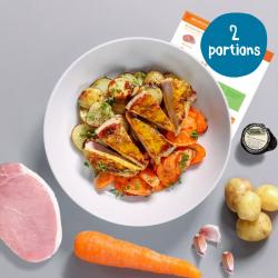 Sweet Mustard Pork with Roast Veg - 2 Portion Recipe Kit