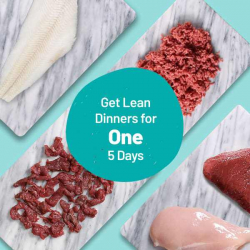 Lean Dinners For One - Meats For 5 Meals