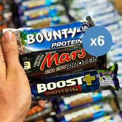 6 x Protein Bar Chocolate Celebration Pack