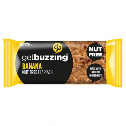 Get Buzzing Natural Banana Flapjack-1 x 62g Bar