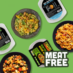 3 Day Healthy Ready Meal Trial - Meat Free selection
