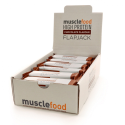 Chocolate High Protein Flapjacks - 18 x 70g Bars