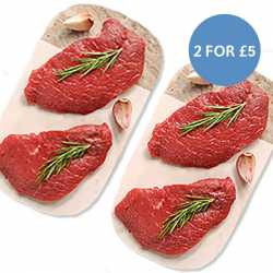 Matured Free Range Minute Steaks  - 2 For £5