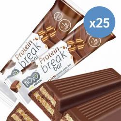 Novo Nutrition - Milk Chocolate Protein Break Bar x 25 Bars