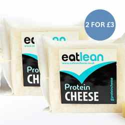 Eatlean High Protein & Low Fat Cheese 2 for £3