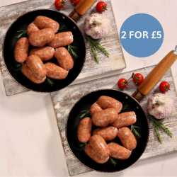 20 x 45g Sticky Italian Spicy Sausages - 2 For £5