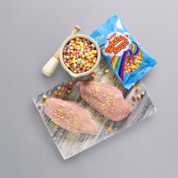 Rainbow Drops Chicken Breasts - 2 x 186g