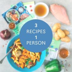 3 High Protein Recipe Kits - £4.65 Each