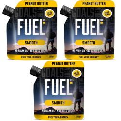 Fuel 10K Smooth Peanut Butter - 3 x 225g