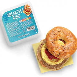 312 Kcal High Protein Chicken Breakfast Bagel