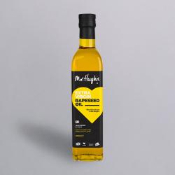 Mr Hugh's Extra Virgin Cold Pressed Rapeseed Oil 500ml