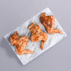Jumbo Smoky BBQ Glazed Chicken Wings - 500g