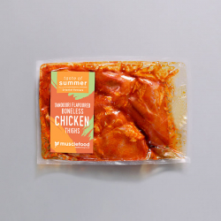 Tandoori Flavoured Boneless Chicken Thighs
