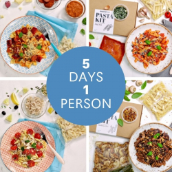 10 Minute Pasta Kits - Meals For The Week 1 Person