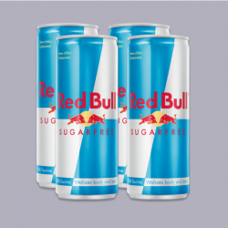 Red Bull Sugar Free Energy 250ml - 4 Pack