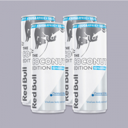 Red Bull Sugar Free- Coconut & Berry Edition 250ml - 4 Pack