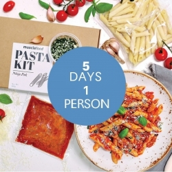 Nduja Pork Pasta Kit - Meals For The Week 1 Person