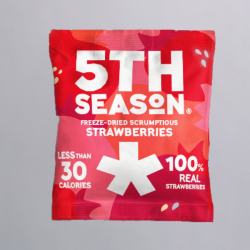 5th Season Freeze-Dried Whole Strawberries