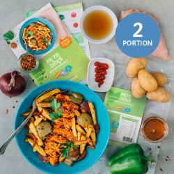 Piri Piri Chicken with Wedges - 2 Portion Recipe Kit