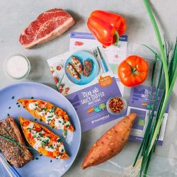 Steak & Saucy Stuffed Sweet Potato Recipe Kit