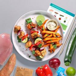 Dragon Fire Chicken Skewers Recipe Kit