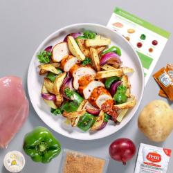 Piri Piri Chicken with Wedges Recipe Kit
