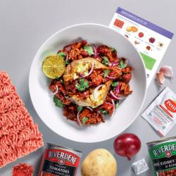 Cheeky Chilli Con Carne & Jacket Potato Recipe Kit