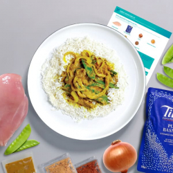 Chinese-Style Chicken Curry with Basmati Rice Recipe Kit