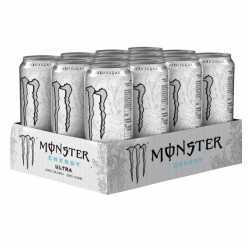 Monster Energy Ultra White - 500ml- 12 x 500ml