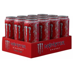 Monster Energy Ultra Red Zero Calories 12x500ml