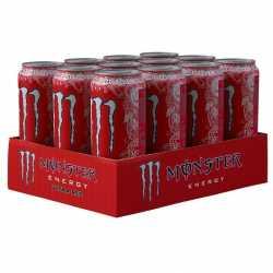 Monster Energy Ultra Red Zero Calories 12x500ml