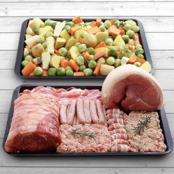 Luxury Beef & Pork Two Pan Hamper