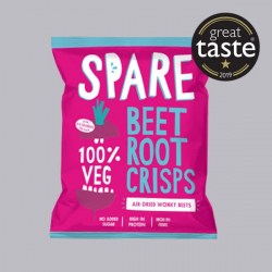 Spare Snacks Air-dried Beetroot Crisps