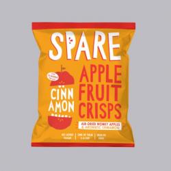 Spare Snacks Air-dried Apple and Cinnamon Crisps