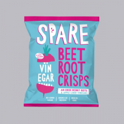 Spare Snacks Air-dried Beetroot and Apple Cider Vinegar Crisps