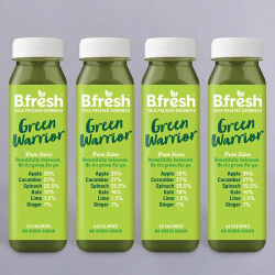 B.Fresh Green Warrior Juice 4 x 250ml