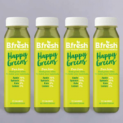 B.Fresh Happy Greens Juice 4 x 250ml