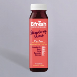 B.Fresh Strawberry Shines Juice 250ml