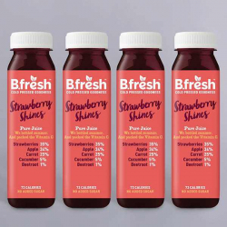 B.Fresh Strawberry Shines Juice 4 x 250ml